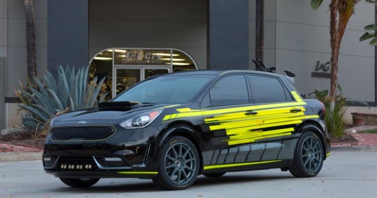 Kia at SEMA: Automaker Reveals Triathlon Dream Vehicle