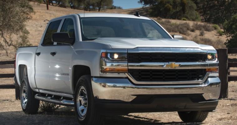 Chevrolet Sales Rise 8.1% in November