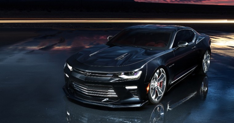 Stunning 2017 Camaro SS Slammer Concept Ready to Electrify the Audience at SEMA