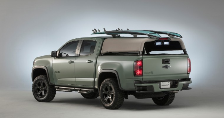 Surfer-Centric 2017 Chevy Colorado ZL1 Hurley Concept Makes Waves at SEMA