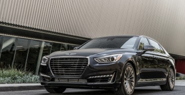 Genesis G90 Earns 2017 North American Car of the Year Nomination
