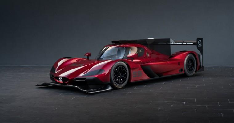 [PHOTOS] Mazda Brings Its New Prototype Race Car to LA Auto Show