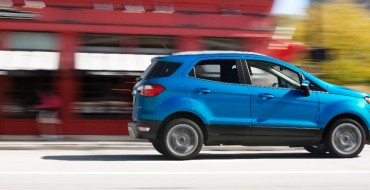 2018 Ford EcoSport Starts at $20,990; $27,735 for Line-Topping SES Trim