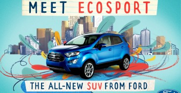 [Photos] All-New Ford EcoSport Revealed; First Details Released