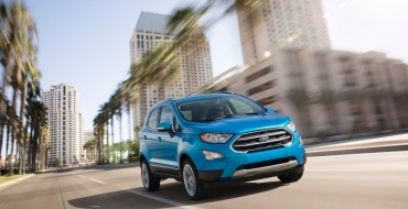 The Wait is Over: 2018 Ford EcoSport Finally Arriving at Dealerships in January