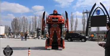 Nostalgia Alert: There is a BMW Transformer