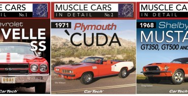 CarTech Releases New 'Muscle Cars In Detail' Books Spotlighting Chevelle, Mustang, and 'Cuda