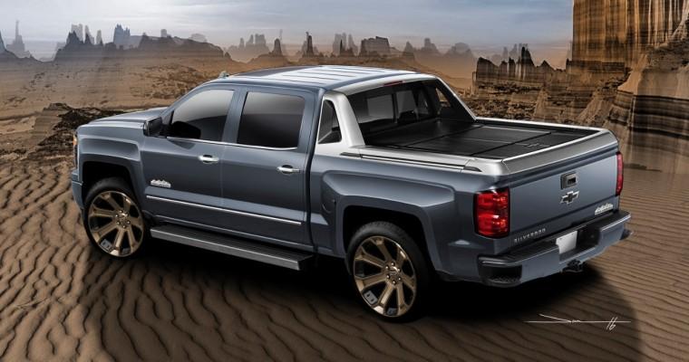 Introducing the Chevy Silverado 1500 High Desert SEMA Show Car