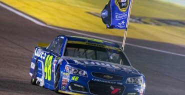 Chevy's #48 Lowe's Car Wins 7th NASCAR Championship (With Help From Very Good Driver Jimmie Johnson)