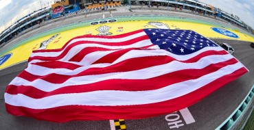 RIVALRY ALERT: Ford Breaks Chevrolet's Record for Flag-Pulling Because 'Merica