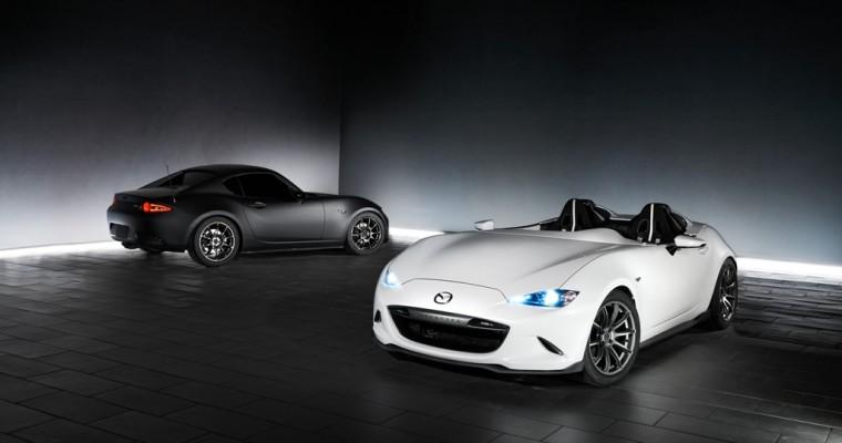 [PHOTOS] Take a Closer Look at Mazda's SEMA Concept Miatas