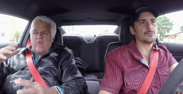 Jay Leno Teaches Brad Paisley How to Do a Burnout in the 2017 Camaro ZL1 [VIDEO]