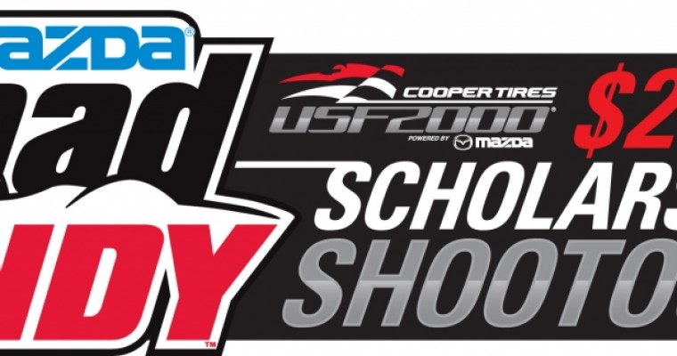 Mazda Road to Indy Scholarship Shootout to Hit Mazda Raceway in December