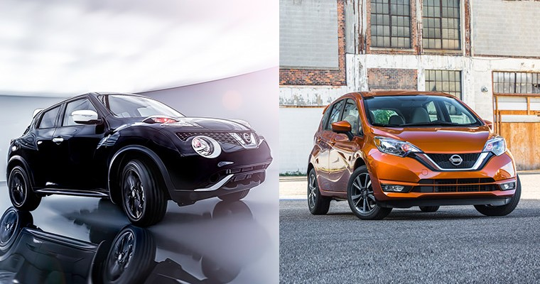 Meet the 2017 Nissan Versa Note and 2017 Juke Black Pearl Edition