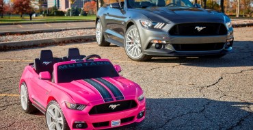 New Power Wheels Smart Drive Mustang Arriving in December
