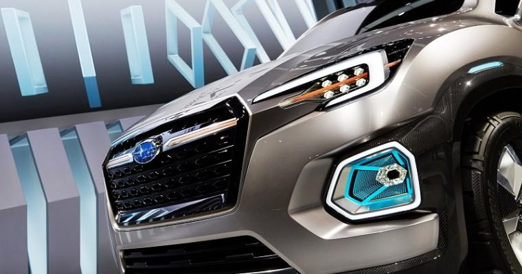 Subaru VIZIV-7 Concept Debuts at LA Auto Show