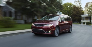2017 Chrysler Pacifica Picks Up NHTSA Five-Star Overall Safety Rating