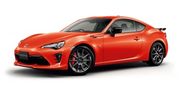 Toyota 86 Goes Orange with High Performance Packages