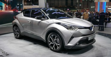 Toyota Turns Heads in LA with Sporty C-HR Crossover