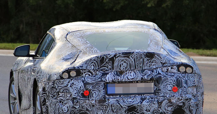 New Toyota Supra Mule Car Looks Even More Like FT-1 Concept
