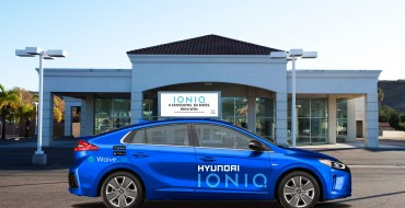 Free Car-Sharing Program WaiveCar to Use Hyundai Ioniq Electric Cars