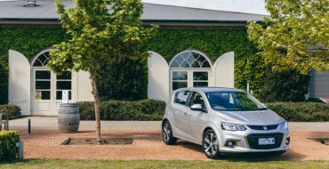 [PHOTOS] Chevy Sonic Heads to Australia Wearing Lion Badge and New Face