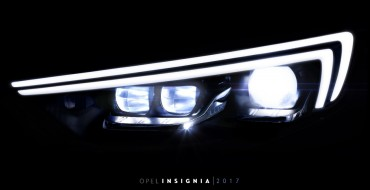 Next-Generation IntelliLux LED Lights to Debut on 2017 Opel Insignia
