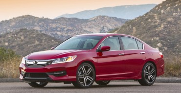 Accord, Ridgeline Help Honda Sets Sales Records for November