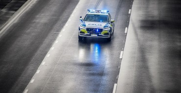 Volvo V90 Makes Debut as Swedish Police Vehicle