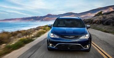 Chrysler Pacifica First Minivan to Earn 2017 Top Safety Pick+ Rating
