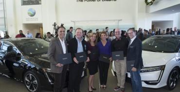 Leonardo DiCaprio Foundation CEO Among First to Receive Honda Clarity FCV