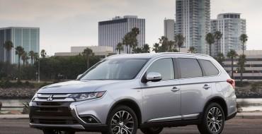 2017 Mitsubishi Outlander Earns IIHS Top Safety Pick+ Award