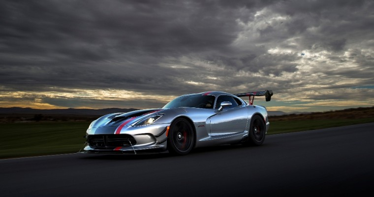 FCA Will Reopen Dodge Viper Ordering One Final Time Before the Holidays