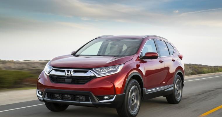 All-New 2017 Honda CR-V Goes On Sale