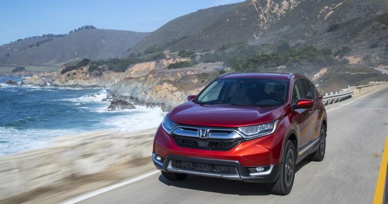 Honda to Air Super Bowl Ad for All-New 2017 CR-V