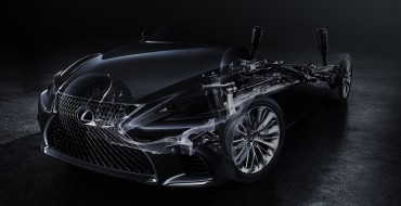 Lexus LS Flagship Sedan to Debut at 2017 Detroit Auto Show