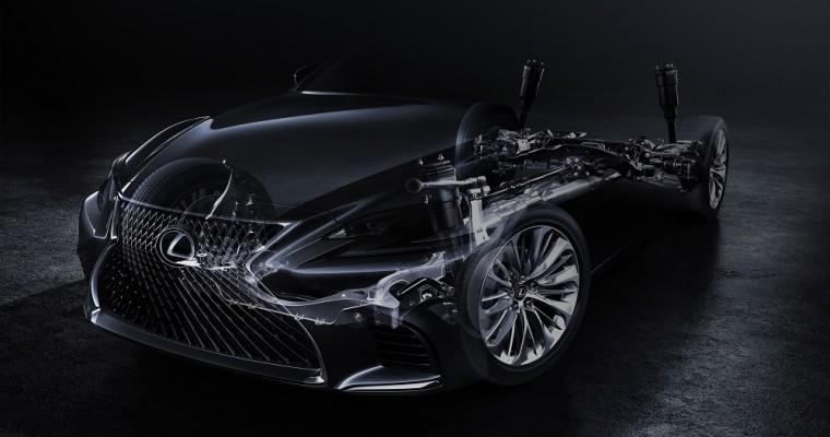 Lexus LS Flagship Sedan to Debut at 2017 Detroit Auto Show
