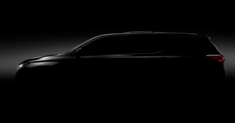 2018 Chevy Traverse to Debut in Detroit on January 9