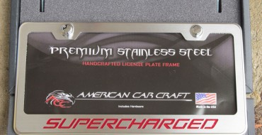 Review of American Car Craft's Premium Stainless Steel License Plate Frames