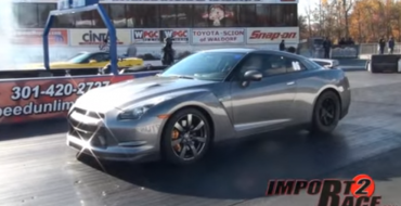 Nissan GT-R Takes On Chevrolet Corvette ZR1