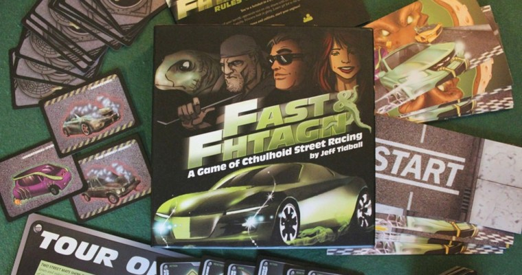 Review of Fast & Fhtagn: A Game of Cthulhoid Street Racing
