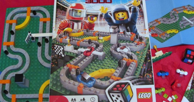 """LEGO RACE 3000 Review: Car Racing on a Different Type of """"Brickyard"""""""