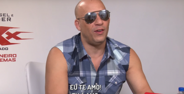 Creepy Vin Diesel Can't Get Over How Beautiful His Brazilian Interviewer Is [VIDEO]