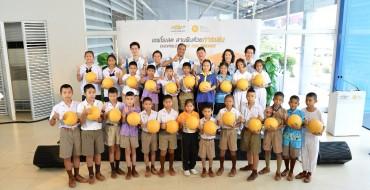 Chevrolet Sales Thailand Hands Out 500 One World Futbols