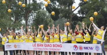 6,440 One World Futbols Donated to Schools in Vietnam