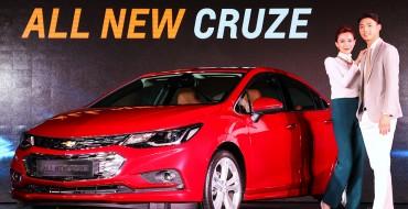 2017 Chevrolet Cruze Launched in Korea