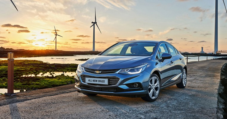 Chevy Cruze Deliveries Getting Underway in Korea Next Week