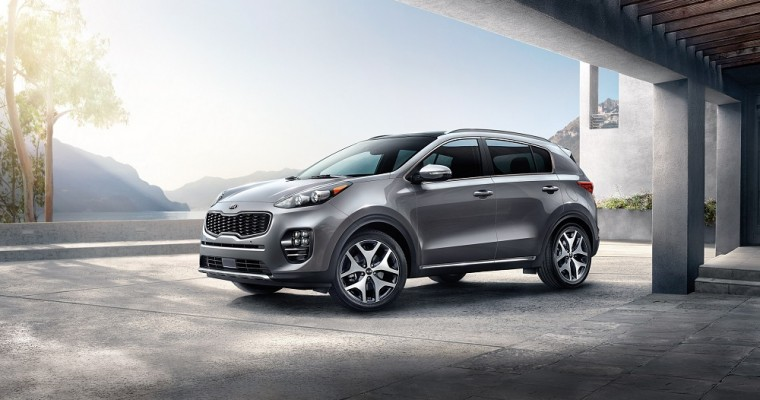 2017 Kia Sportage Named Best New Compact SUV by Cars.com