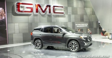[Photos] 2018 GMC Terrain Takes Center Stage at NAIAS