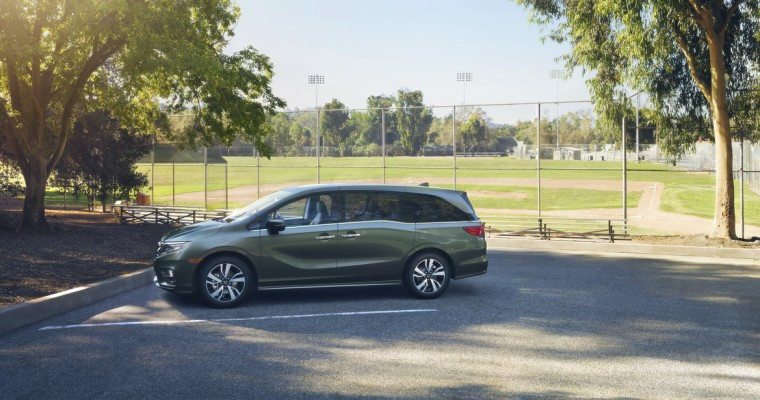 All-New 2018 Honda Odyssey Minivan Goes On Sale Today for $29,990